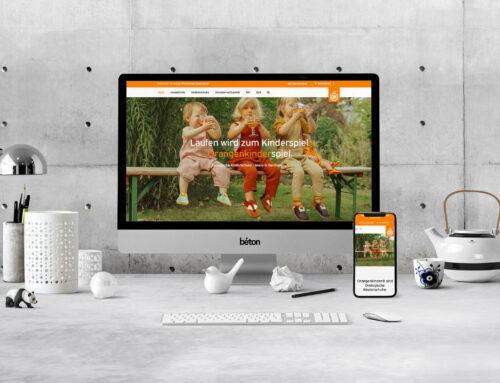 Orangenkinder Webseite