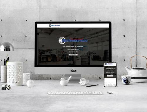 Reifenservice Oberreichenbach Webseite