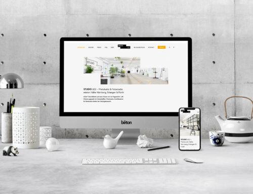 Studio 652 Webseite